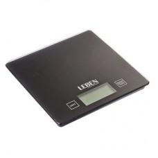 Весы кухонные электронные, стекл.платформа, макс.нагр. 5кг (точн.измер. 1гр) LEBEN