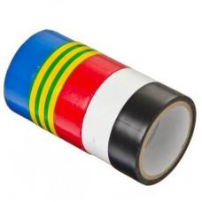 Набор изолент 5шт d48ммх0, 13х18ммх4м, 5цветов