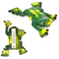 """Термометр оконный """"Лягушка"""" 17,5х23,5см для крепления на стекло, пакет INBLOOM"""