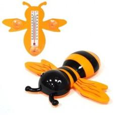 """Термометр оконный """"Наша Пчела"""" 23x20см, для крепления на стекло, пакет INBLOOM"""