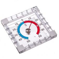 Термометр оконный Биметаллический (-50 +50), блистер INSALAT