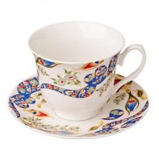 Набор чайный 4 пр., 240мл, костяной фарфор Илона MILLIMI