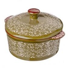 Горшочек с крышкой для запекания и сервировки, керамика, 15,5х13,5х6см, 500мл, 2 цвета MILLIMI