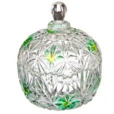 Конфетница, стекло, 13х10,5 см, 4 цвета Иллюзия