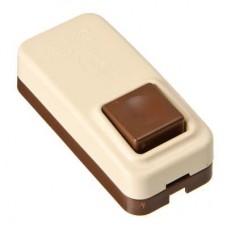 Кнопка звонка, пластик, AC 1A/250V, DC 3A/30V