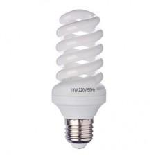 Лампа энергосберегающая E27 18W 4100K полн.спираль FORZA